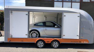 Porsche enclosed car transport company