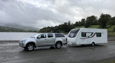 Touring caravan collection, towing and delivery