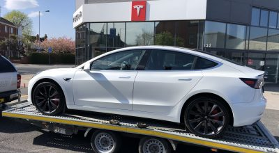 New car dealerships Tesla Manchster